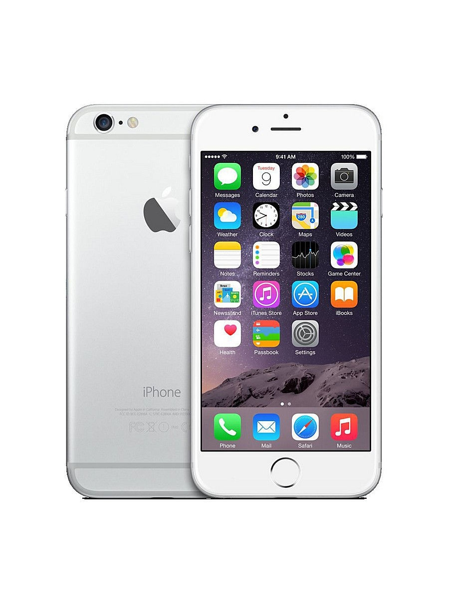 Смартфон iPhone 6, 64Gb Silver
