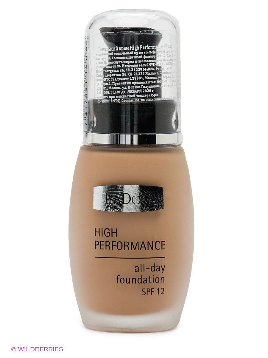 "ISADORA Тональный крем""High Performance all day Foundation"" 04, 30мл"