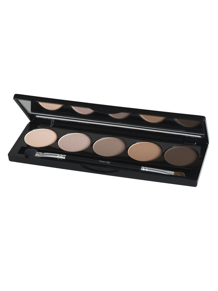 Тени ISADORA Тени для векEye Shadow Palette 50, 7,5г тени для век isadora eye shadow quartet 03 цвет 03 urban green variant hex name a19388