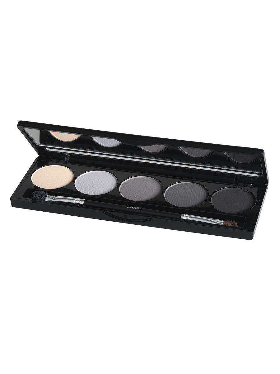 Тени ISADORA Тени для векEye Shadow Palette 56, 7,5г тени для век isadora eye shadow quartet 03 цвет 03 urban green variant hex name a19388