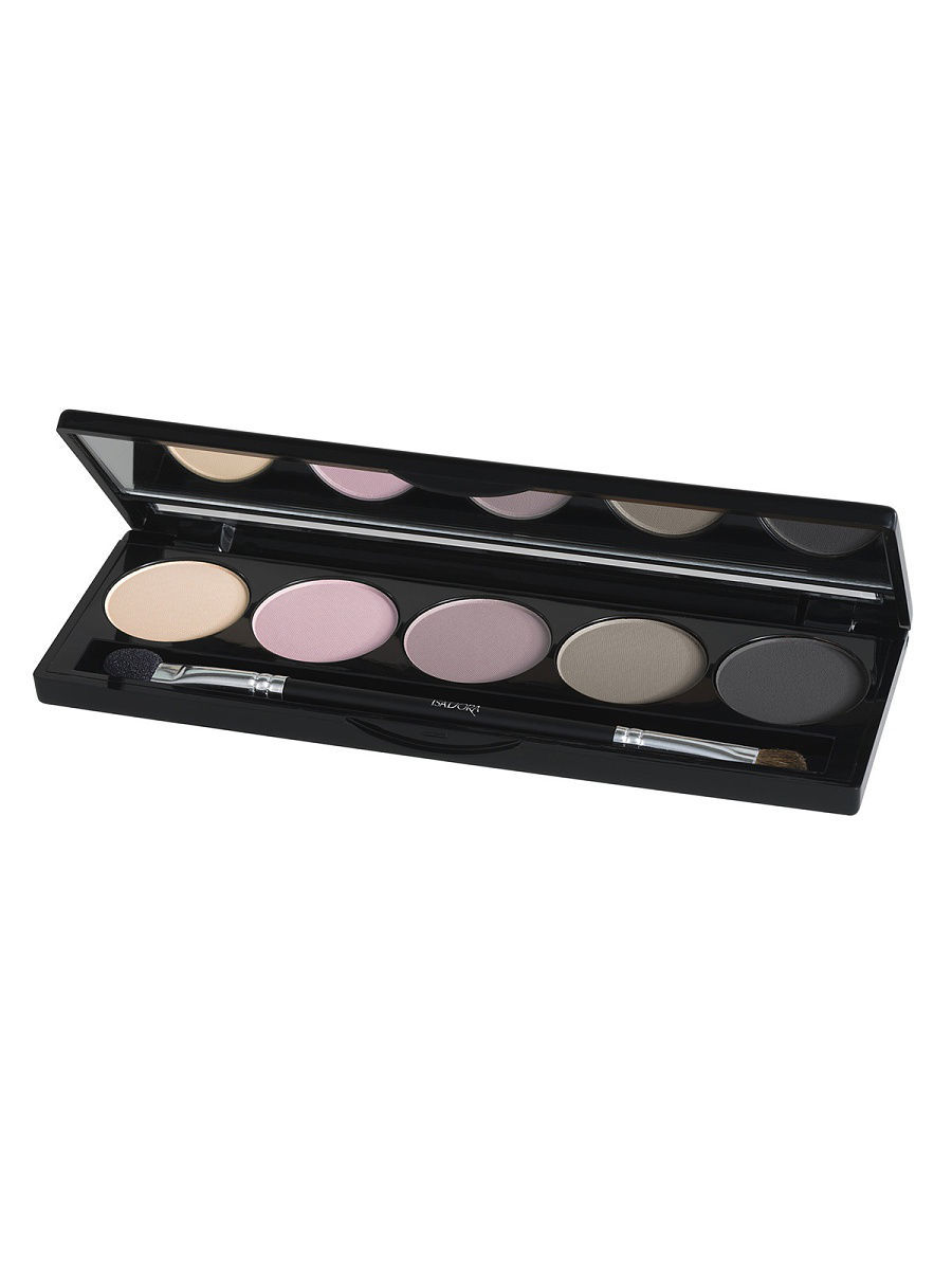 Тени ISADORA Тени для векEye Shadow Palette 59, 7,5г тени для век isadora eye shadow quartet 03 цвет 03 urban green variant hex name a19388