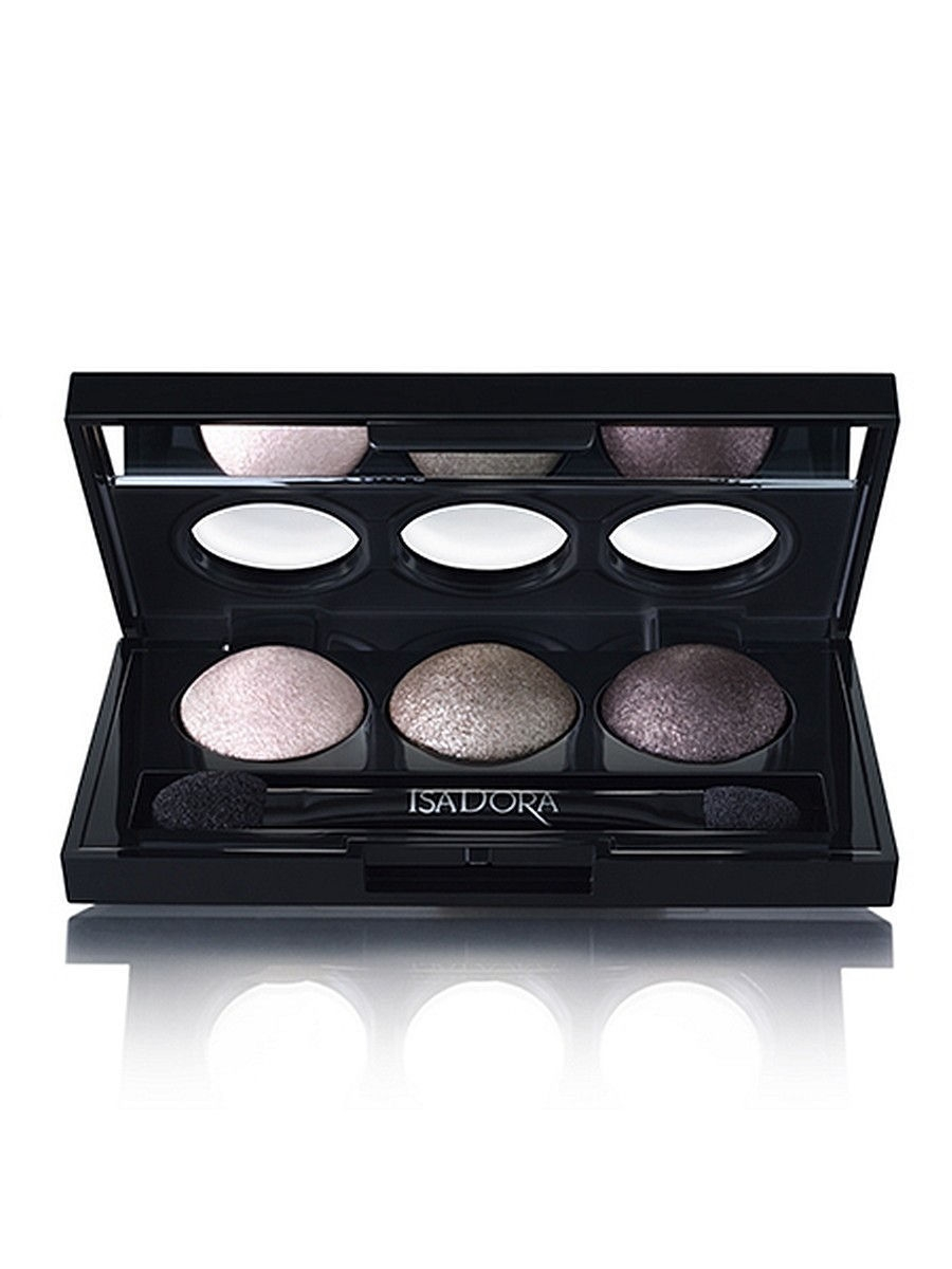 Тени ISADORA Тени для век Eye Shadow Trio 80, 1,8г тени для век isadora eye shadow quartet 03 цвет 03 urban green variant hex name a19388