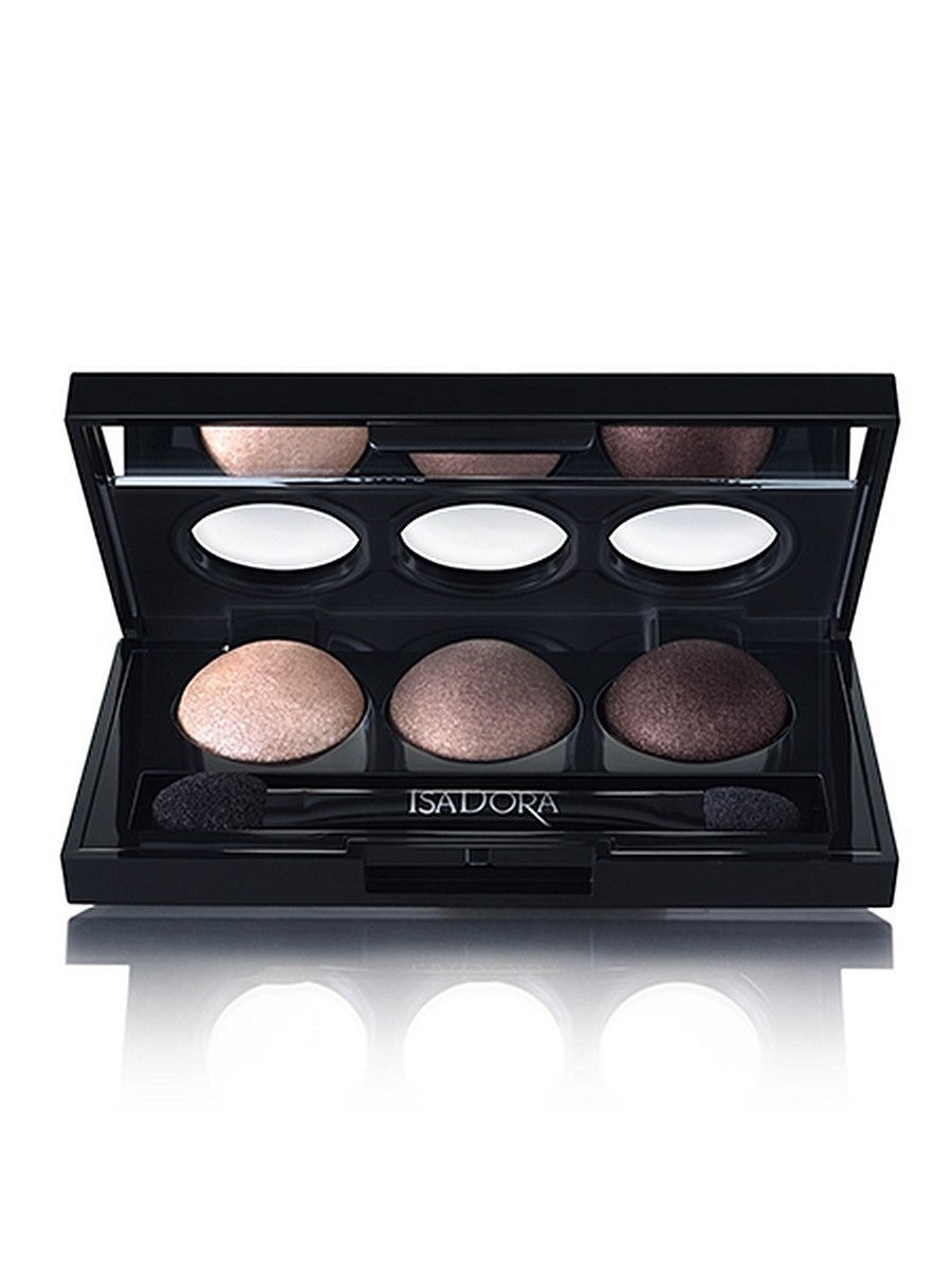Тени ISADORA Тени для век Eye Shadow Trio 81, 1,8г тени для век isadora eye shadow quartet 03 цвет 03 urban green variant hex name a19388