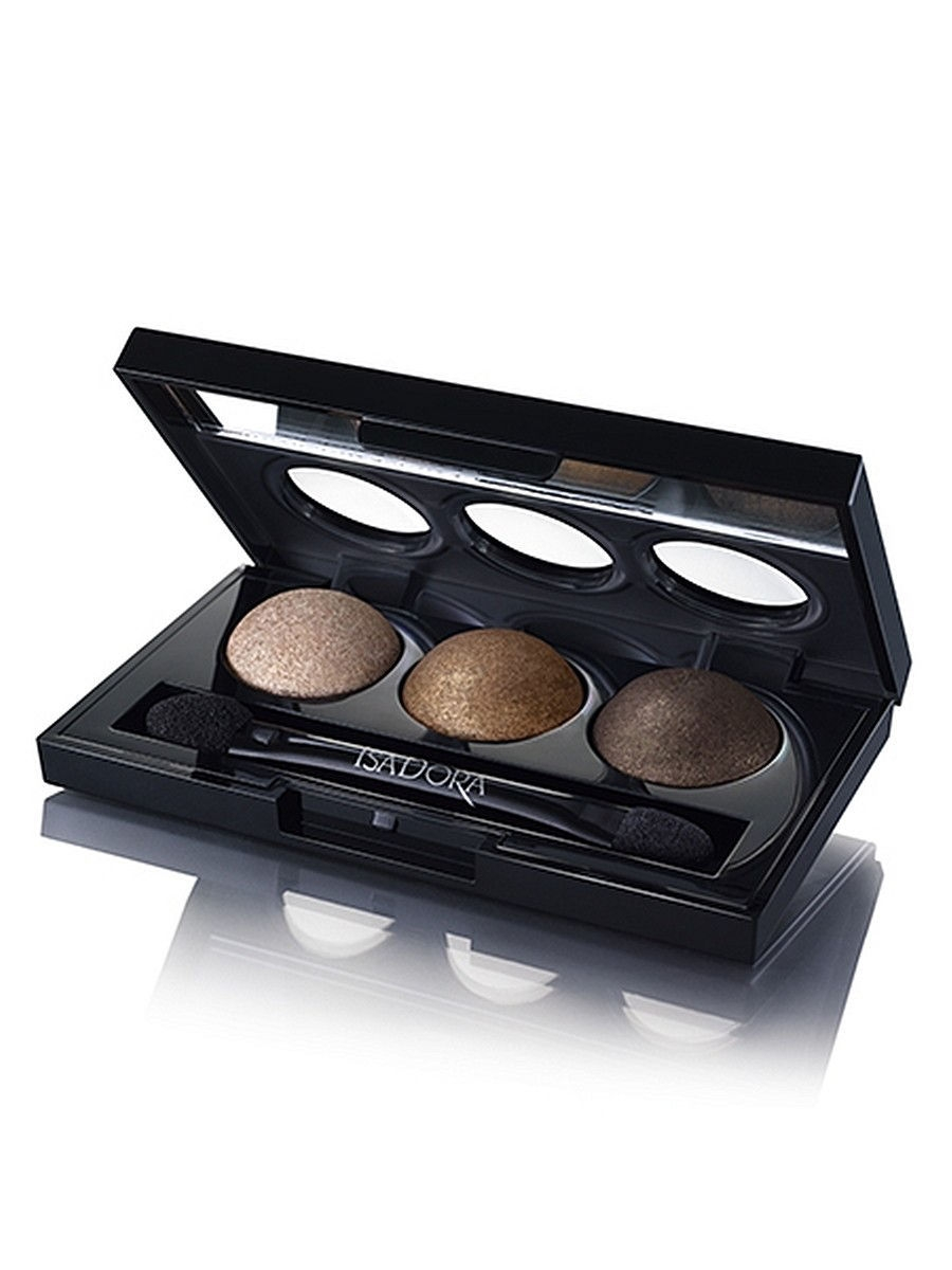Тени ISADORA Тени для век Eye Shadow Trio 83, 1,8г тени для век isadora eye shadow quartet 03 цвет 03 urban green variant hex name a19388