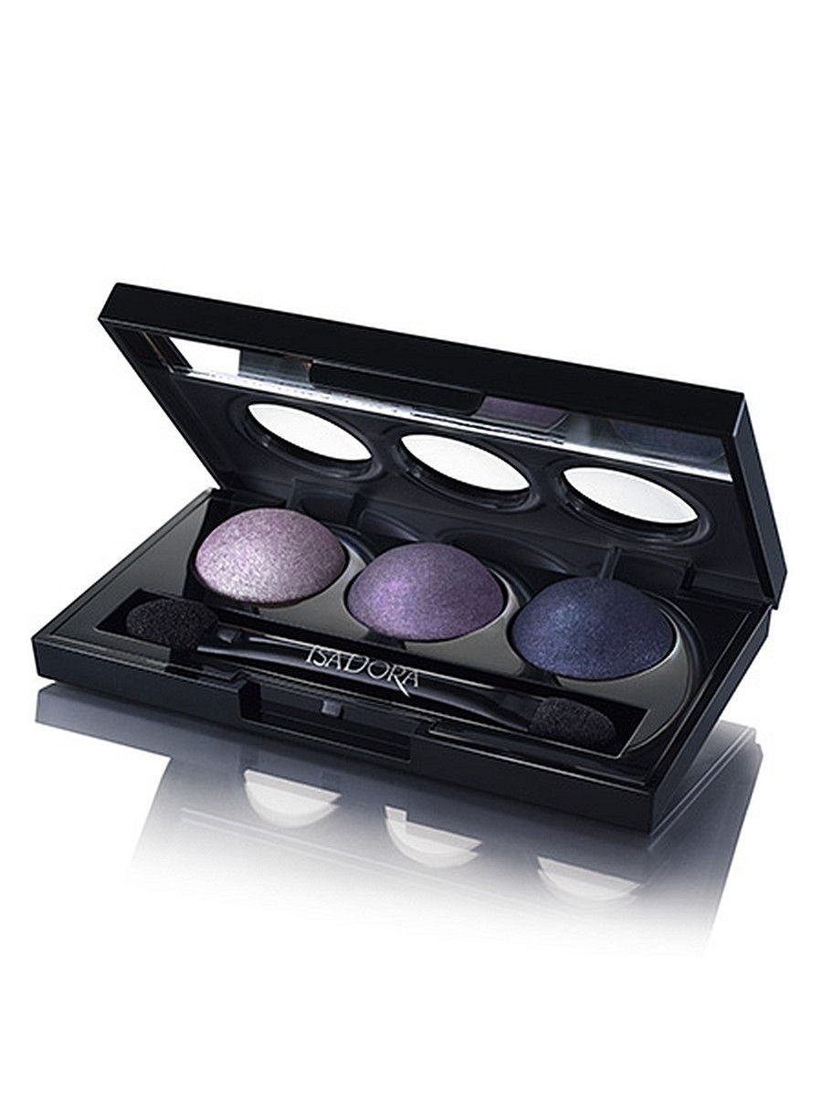 Тени ISADORA Тени для век Eye Shadow Trio 85, 1,8г тени для век isadora eye shadow quartet 03 цвет 03 urban green variant hex name a19388