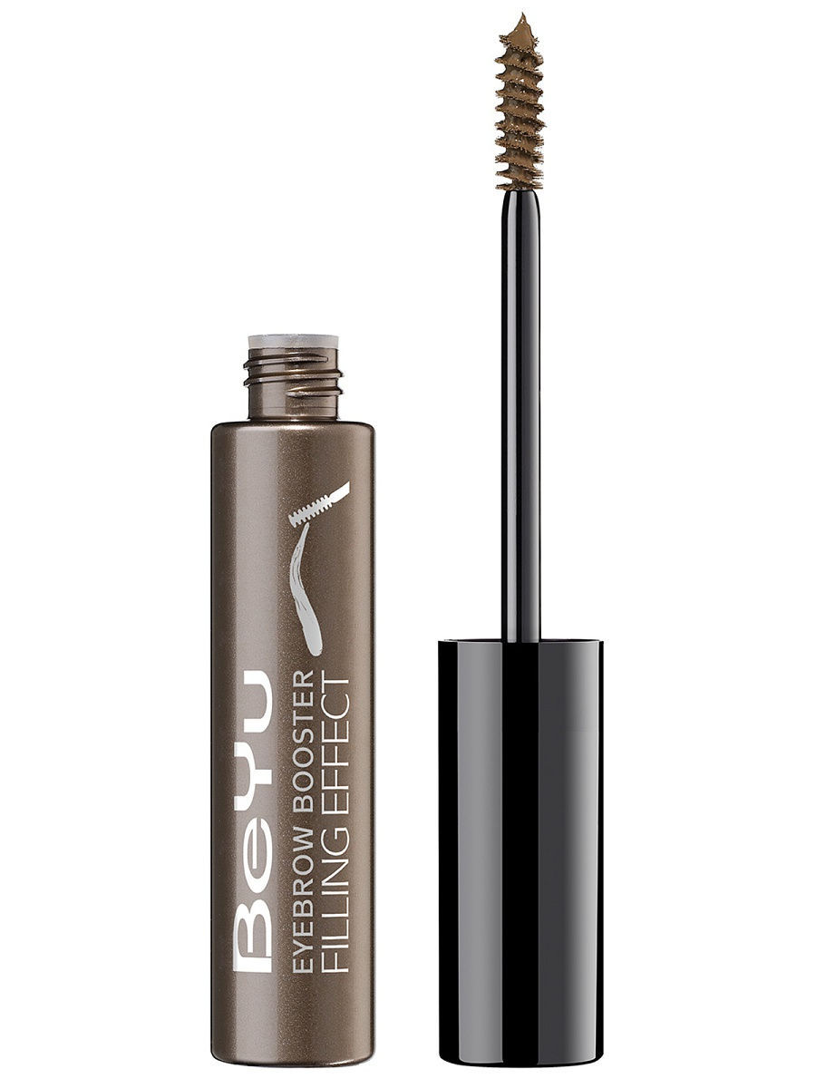 Гели для бровей BEYU Гель для бровей с микроволокнамиEyebrow Booster Filling Effect 3, 8мл гель для бровей с микроволокнами eyebrow booster filling effect 6 8мл
