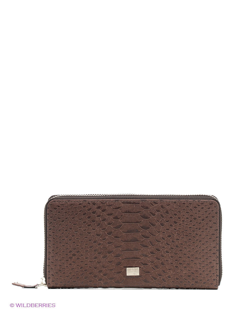Кошелек Mano 20151/croco/brown