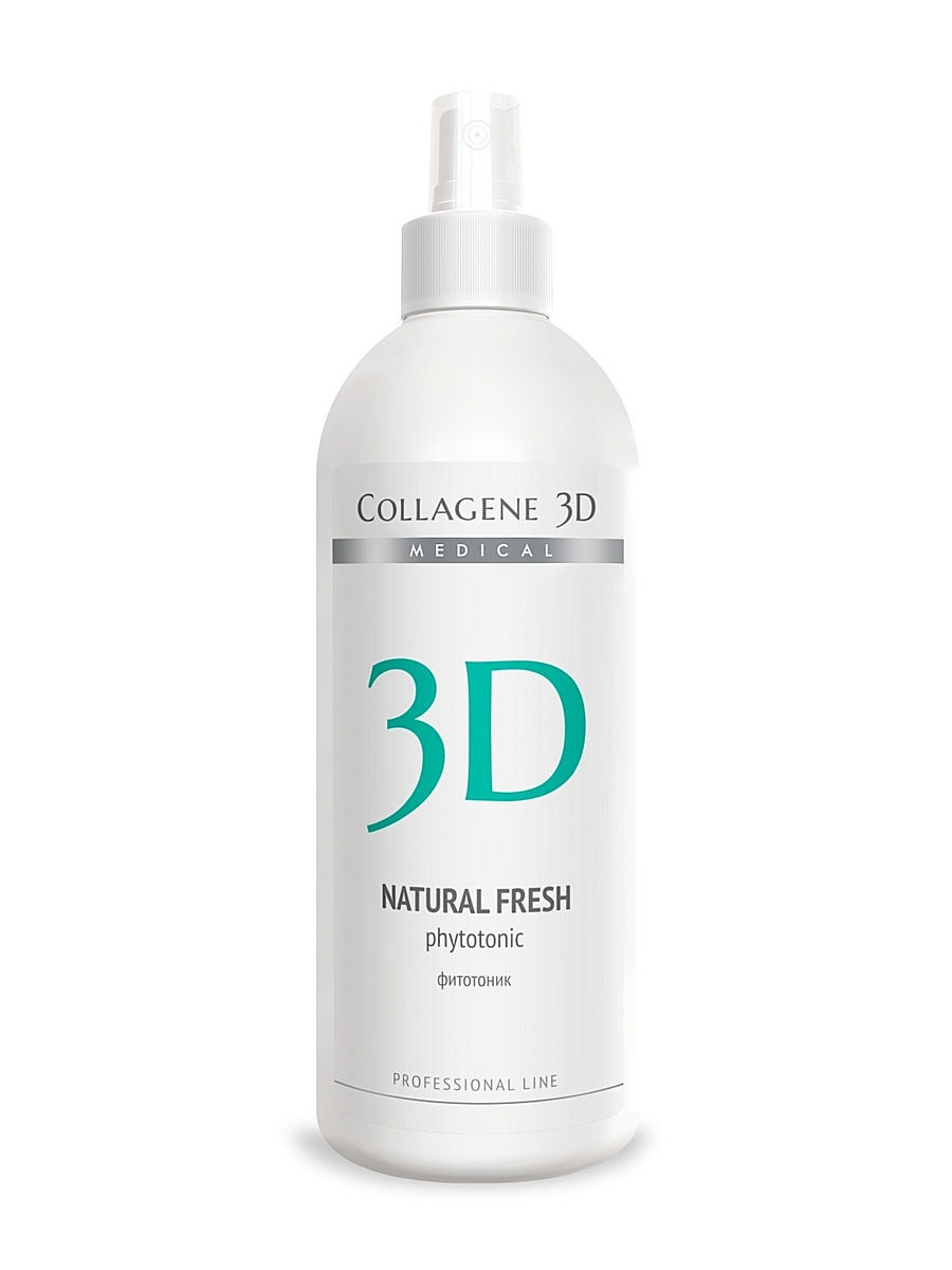 Фитотоник ПРОФ Natural Fresh 500 мл Medical Collagene 3D