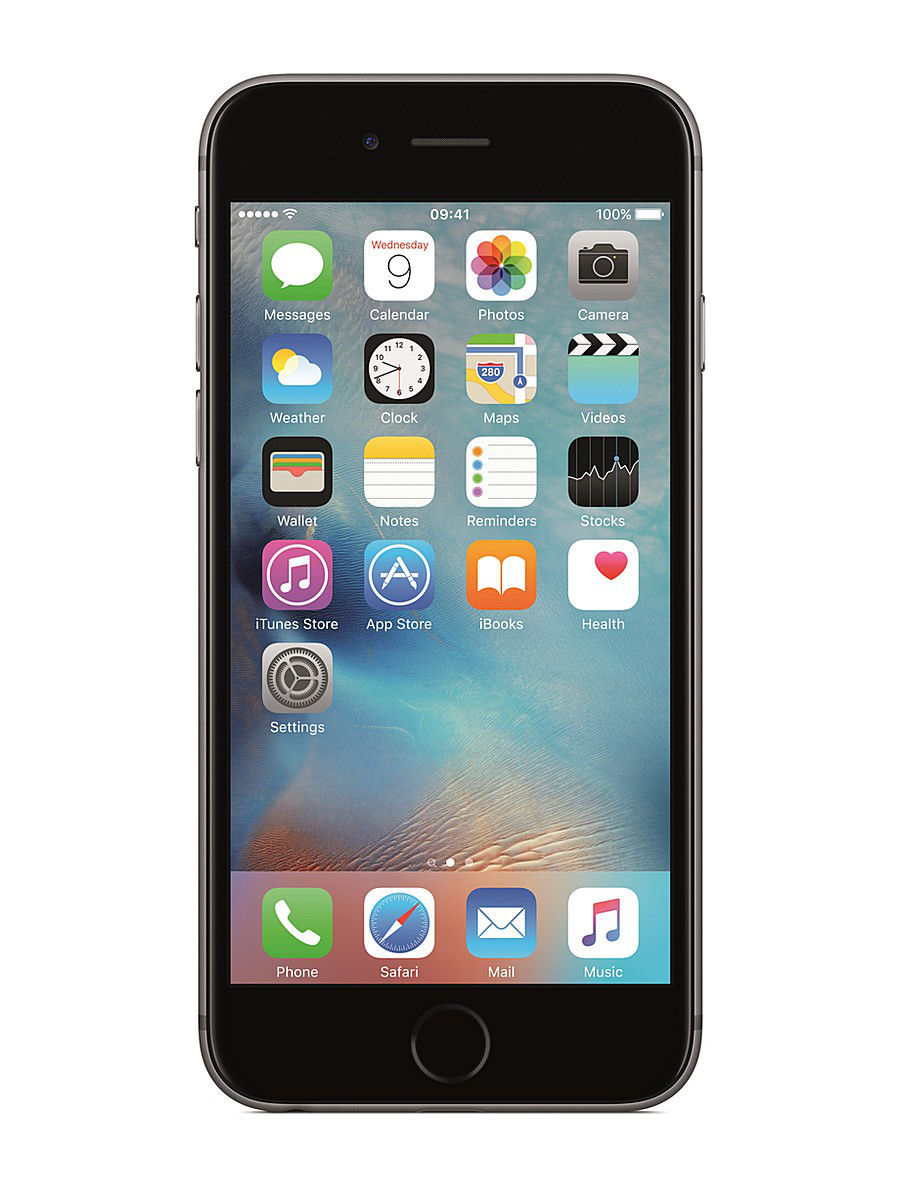 Смартфоны Apple Смартфон APPLE iPhone 6s MKQN2RU/A 64Gb, серый