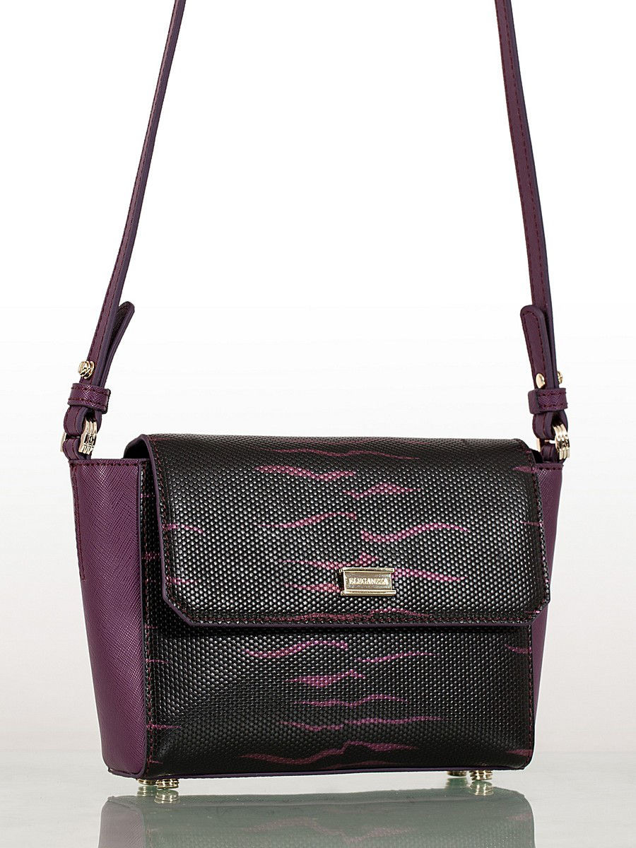 Сумка Eleganzza ZK32-1065 BLACK/PURPLE