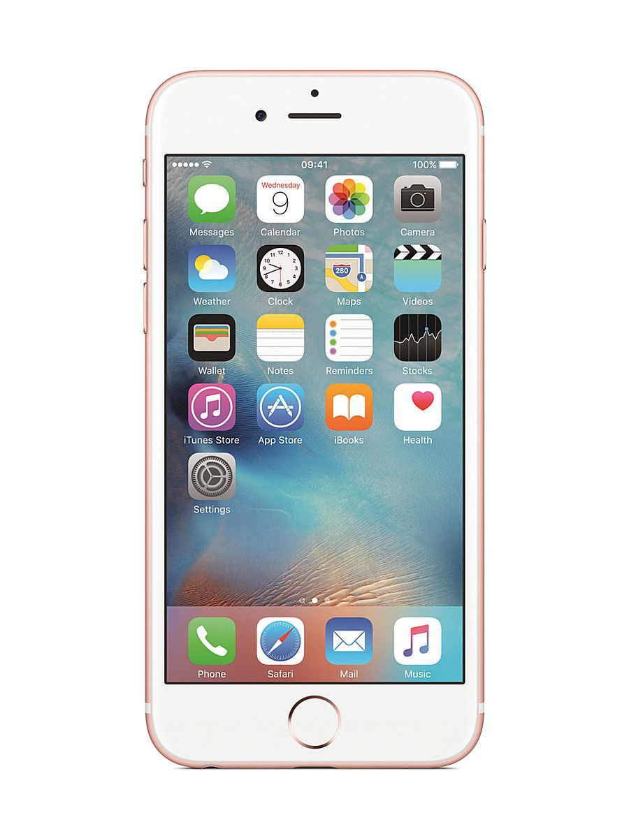Смартфоны Apple Смартфон iPhone 6S, 16Gb Rose Gold смартфон apple iphone 6s plus 16gb gold ios 9 a9 1840mhz 5 5 1920x1080 2048mb 16gb 4g lte 3g edge hsdpa hspa [mku32ru a]
