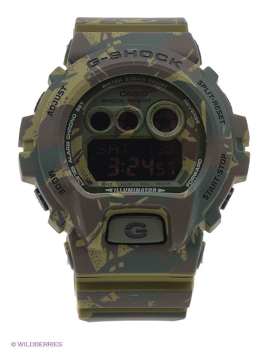 Часы наручные CASIO Часы G-Shock GD-X6900MC-3E casio casio gd x6900mc 5e