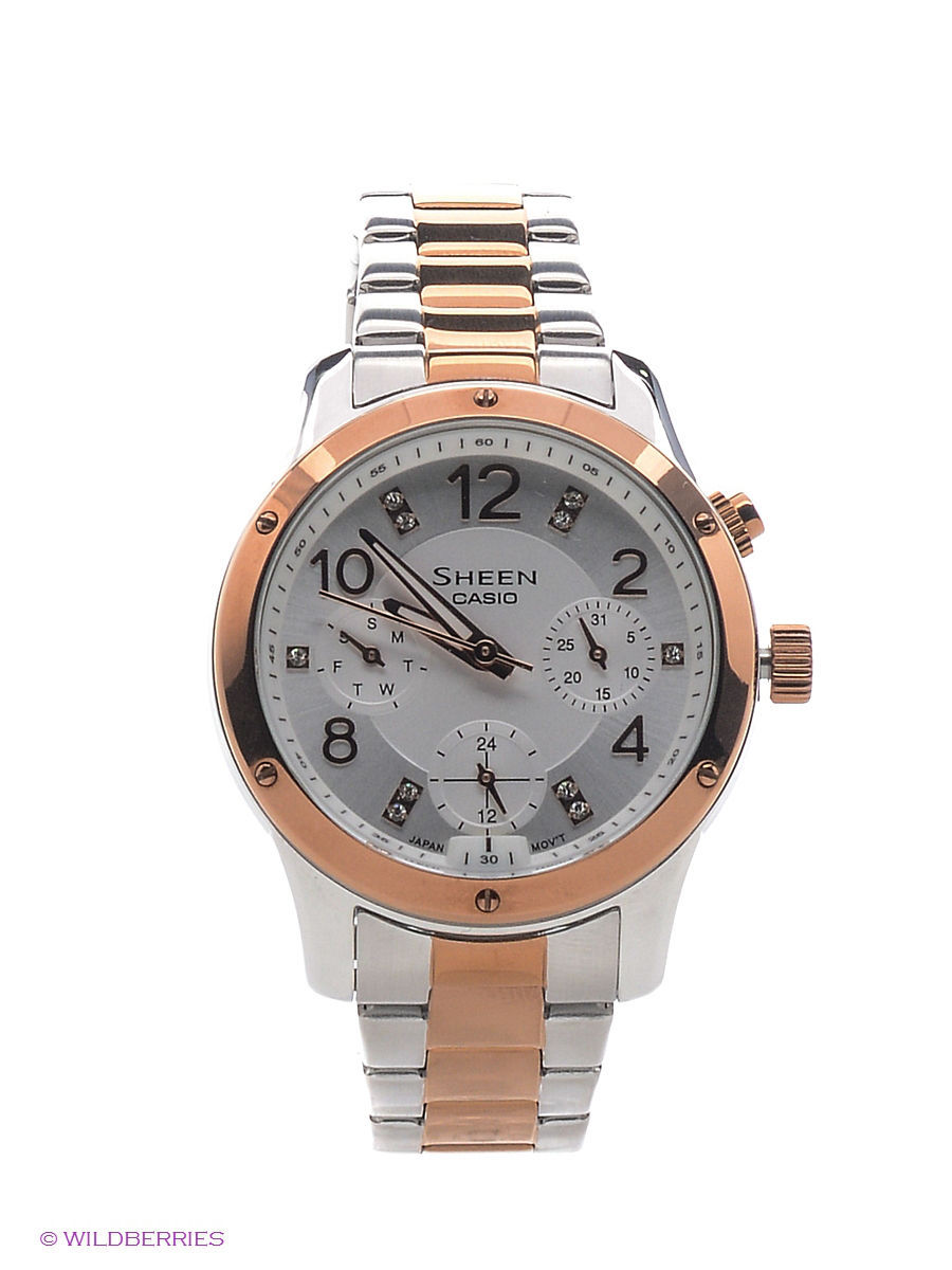 Часы наручные CASIO Часы Sheen SHE-3807SPG-7A casio sheen she 3029pgl 7a
