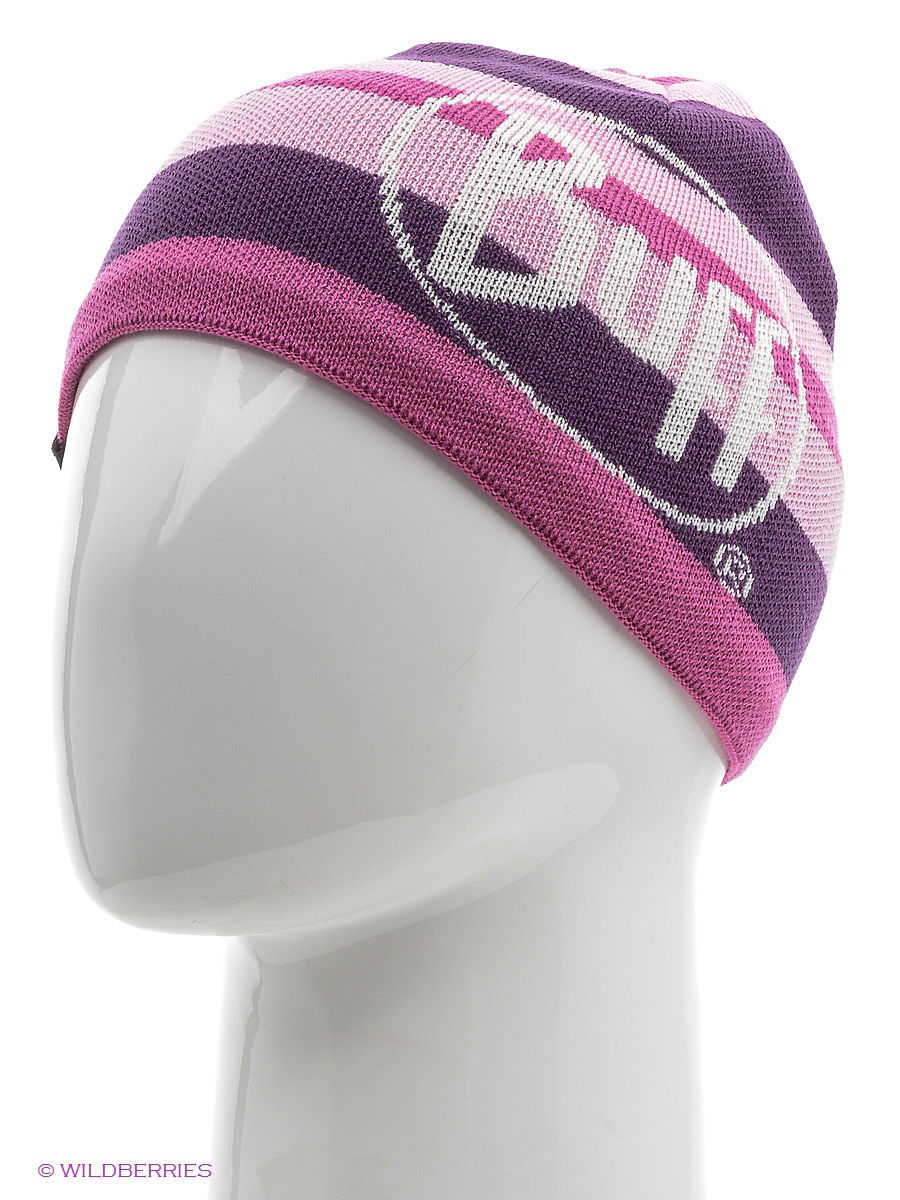 Шапки Buff Шапка BUFF KNITTED HATS BUFF OVEL PLUM  buff raspberry rose