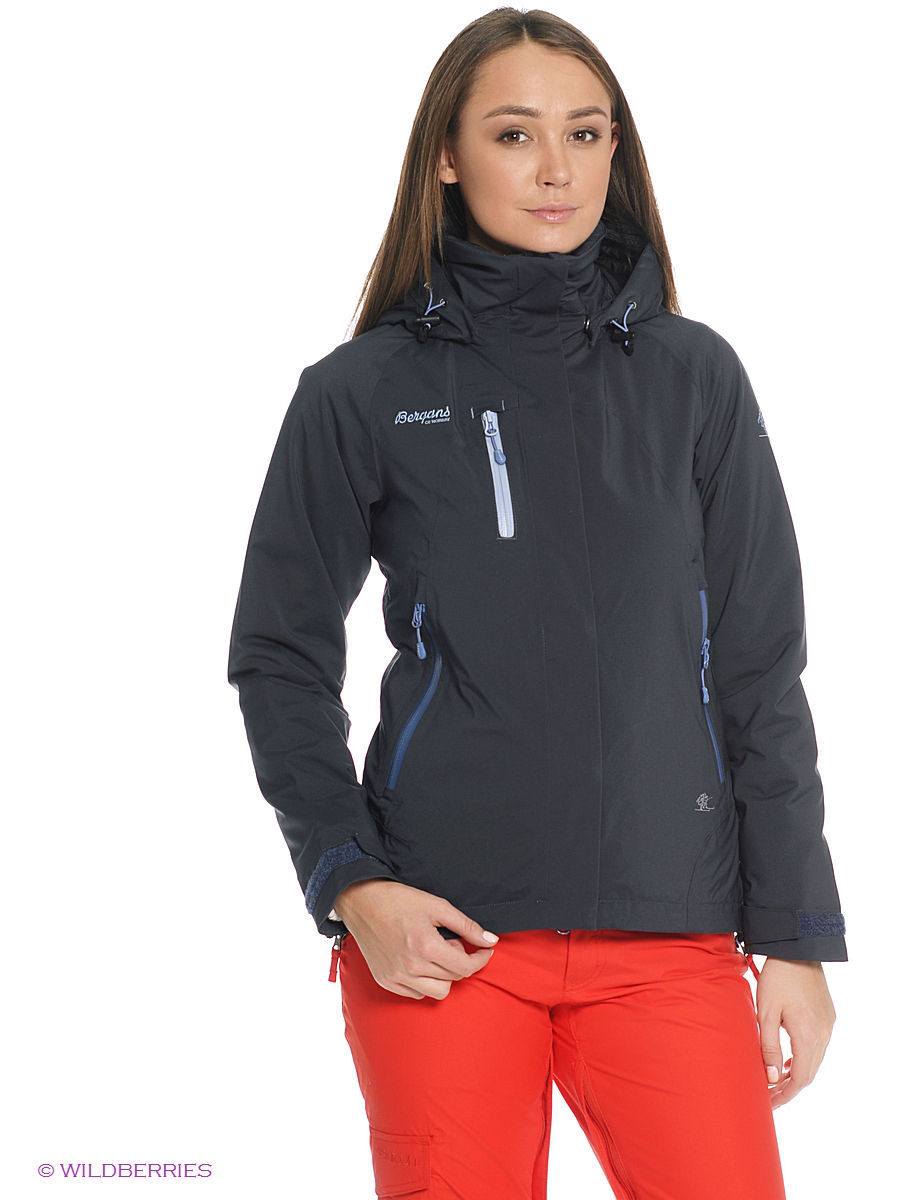 Куртка Bergans 7521/NightBlue/DustyBlue/DustyLtBlue: изображение 2