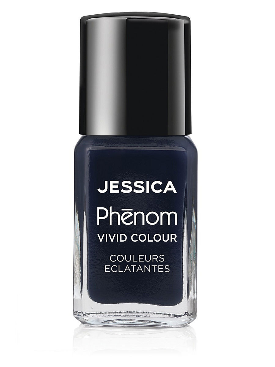 "JESSICA Phenom Цветное покрытие Vivid Colour ""Blue Blooded"" № 10, 15 мл"