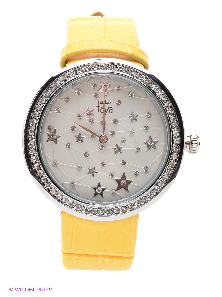 Часы Taya T-W-0008-WATCH-SL.YELLOW