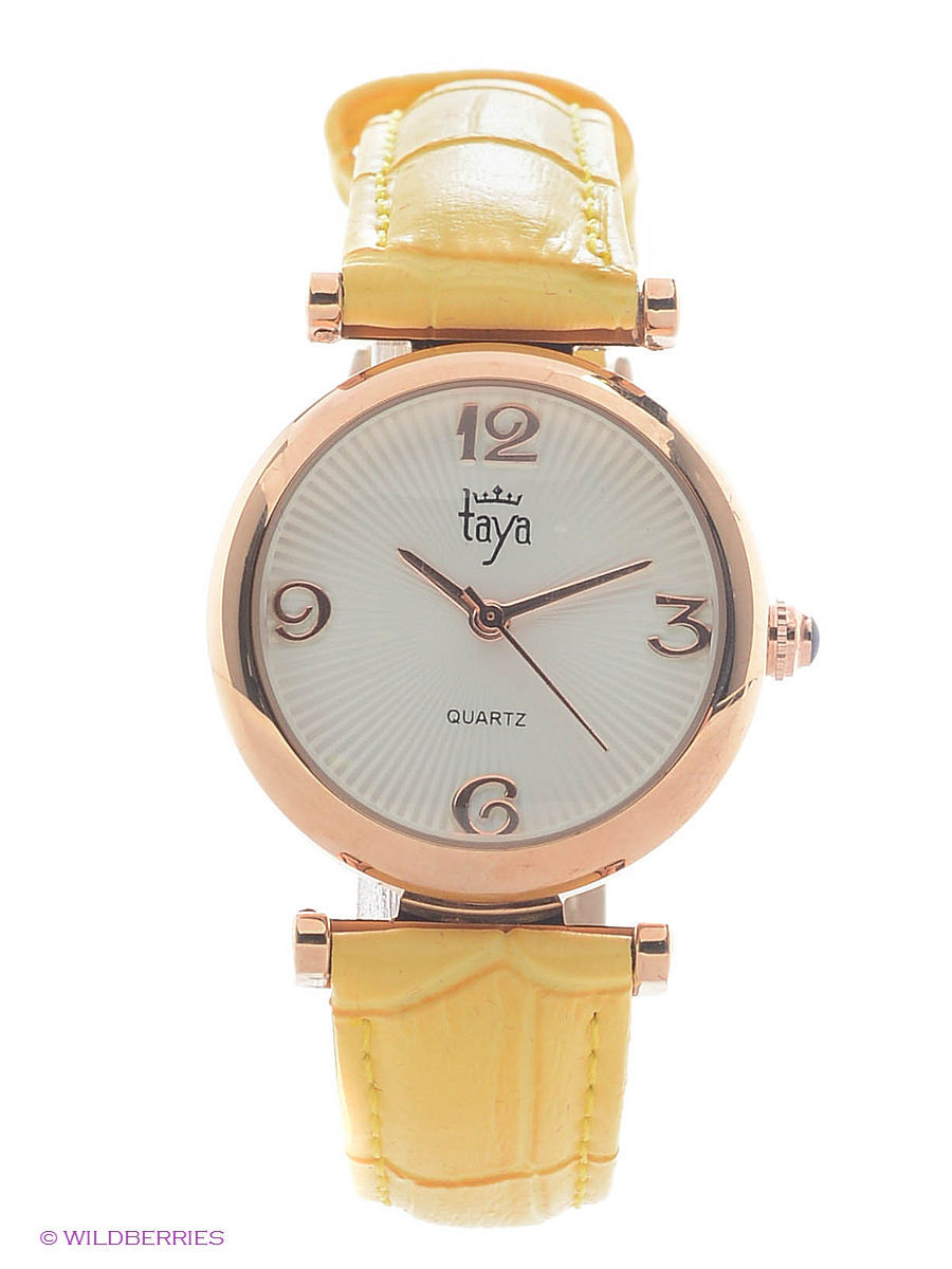 Часы Taya T-W-0018-WATCH-GL.YELLOW