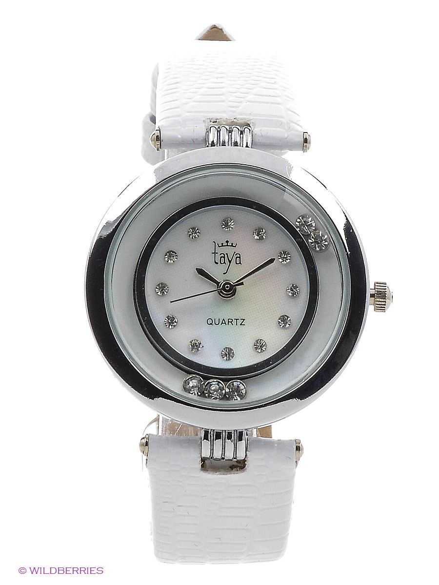 Часы Taya T-W-0022-WATCH-SL.WHITE