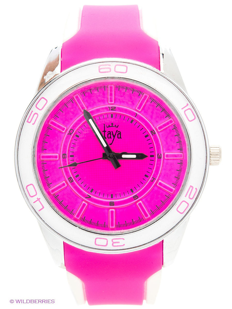Часы Taya T-W-0208-WATCH-SL.FUCHSIA