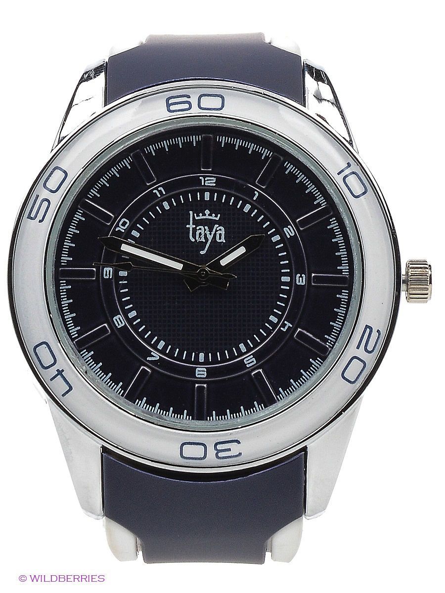 Часы Taya T-W-0209-WATCH-SL.D.BLUE