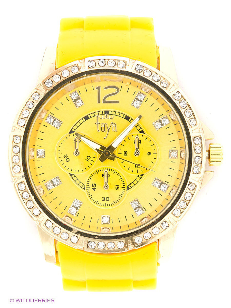 Часы Taya T-W-0211-WATCH-GL.YELLOW