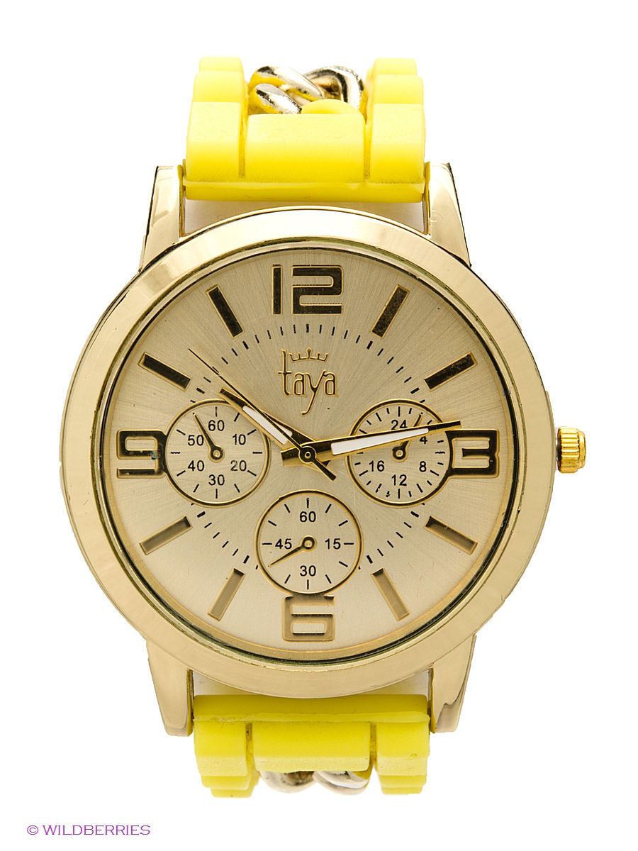 Часы Taya T-W-0221-WATCH-GL.YELLOW