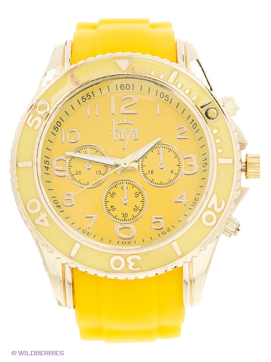 Часы Taya T-W-0237-WATCH-GL.YELLOW