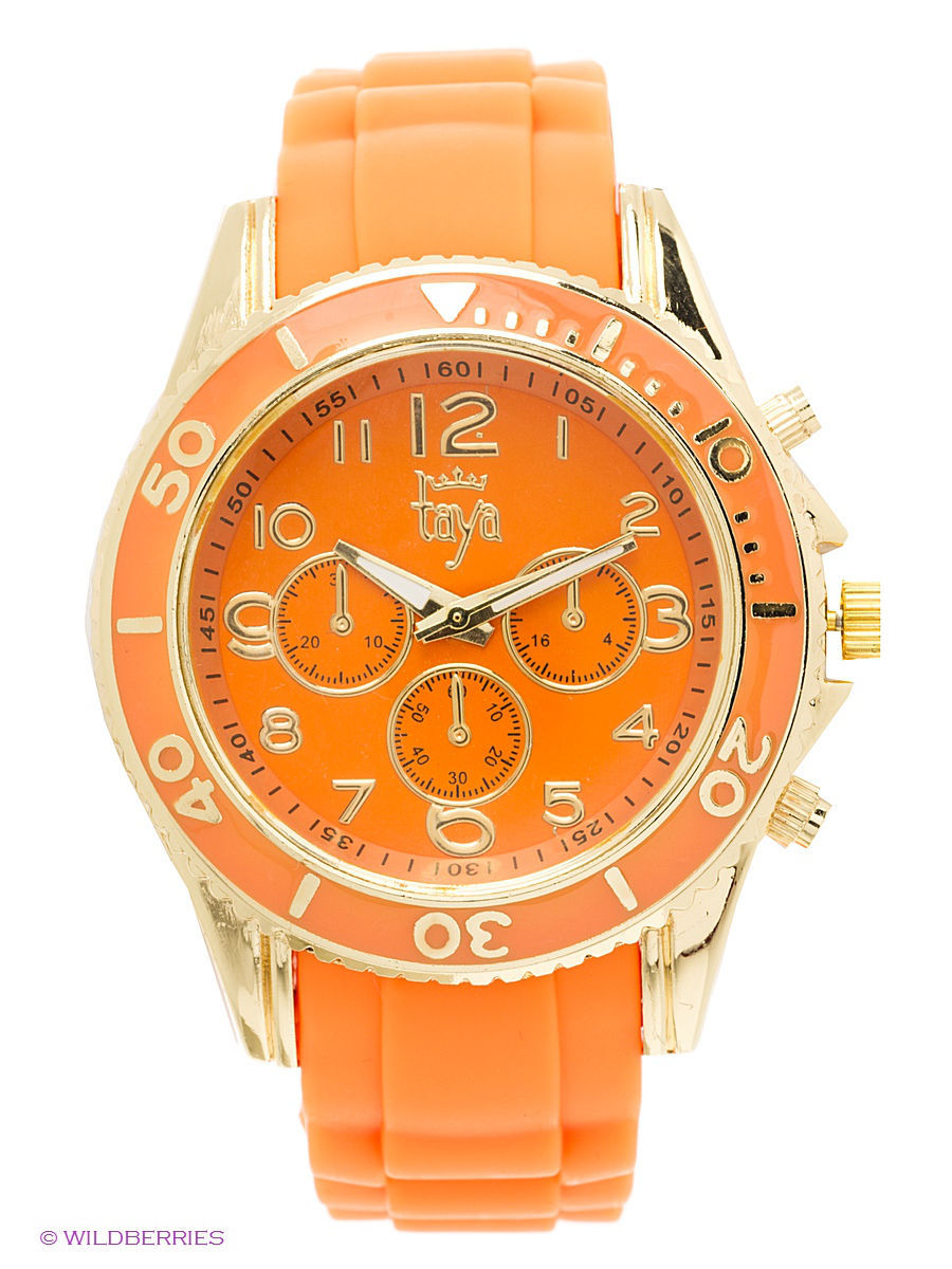 Часы Taya T-W-0238-WATCH-GL.ORANGE