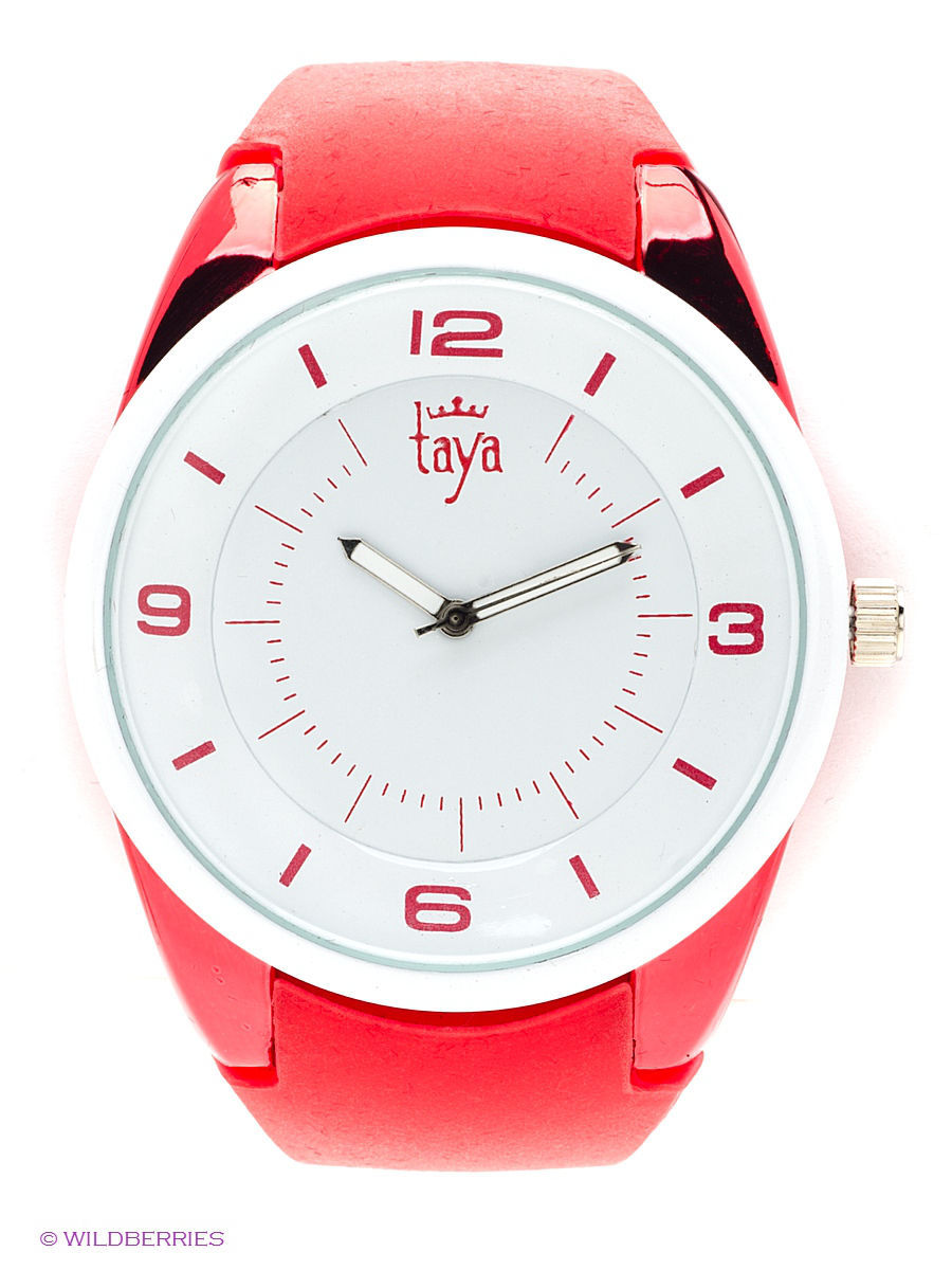 Часы Taya T-W-0249-WATCH-WH.RED