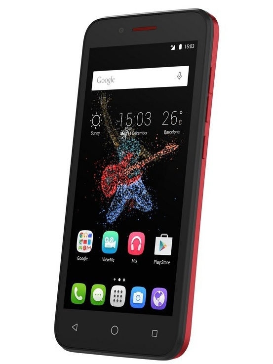 Смартфон Alcatel One Touch 7048X Go Play LTE Dark Red