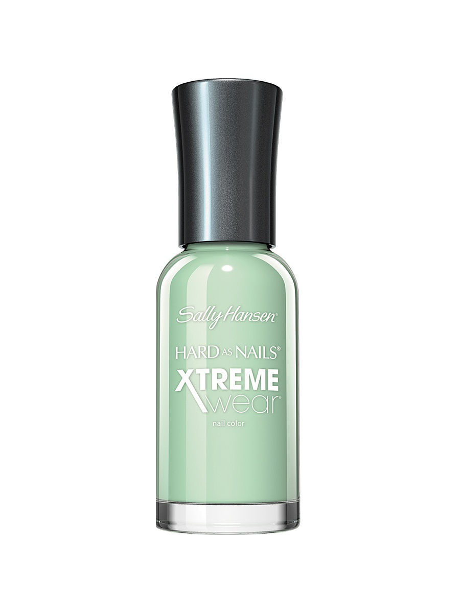 Лаки для ногтей SALLY HANSEN Лак для ногтей Hard As Nails Xtreme Wear Nail Color, тон Mint Sorbet # 340/62 лаки для ногтей sally hansen лак для ногтей xtreme wear black out тон 370 28