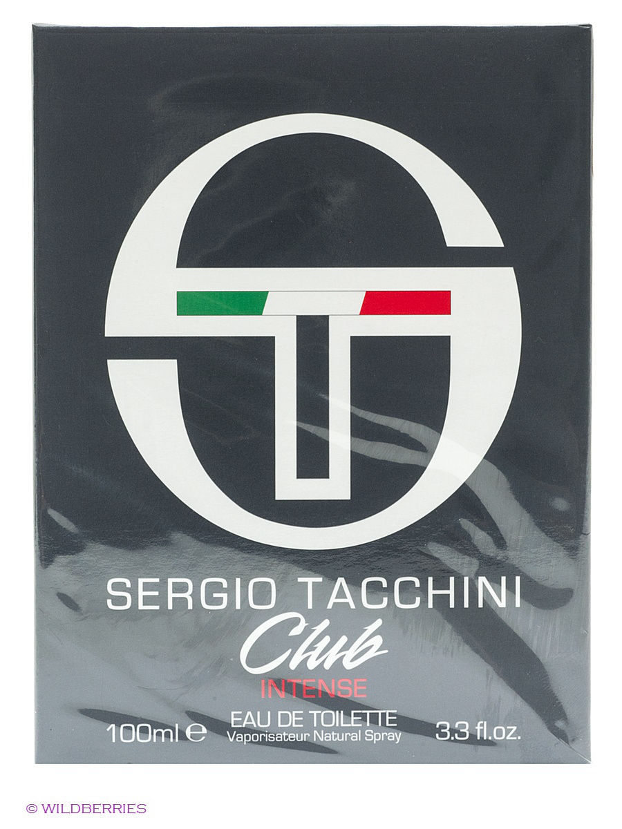 Парфюмерная вода ST CLUB INTENSE EDT 100ML SPRAY SERGIO TACCHINI MOR245405