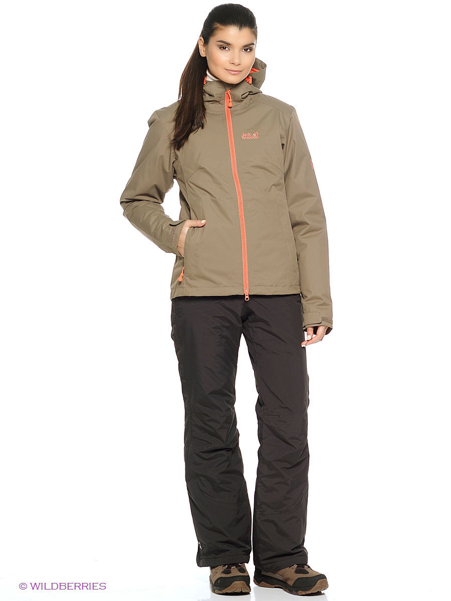 Куртки Jack Wolfskin Куртка CHILLY MORNING WOMEN