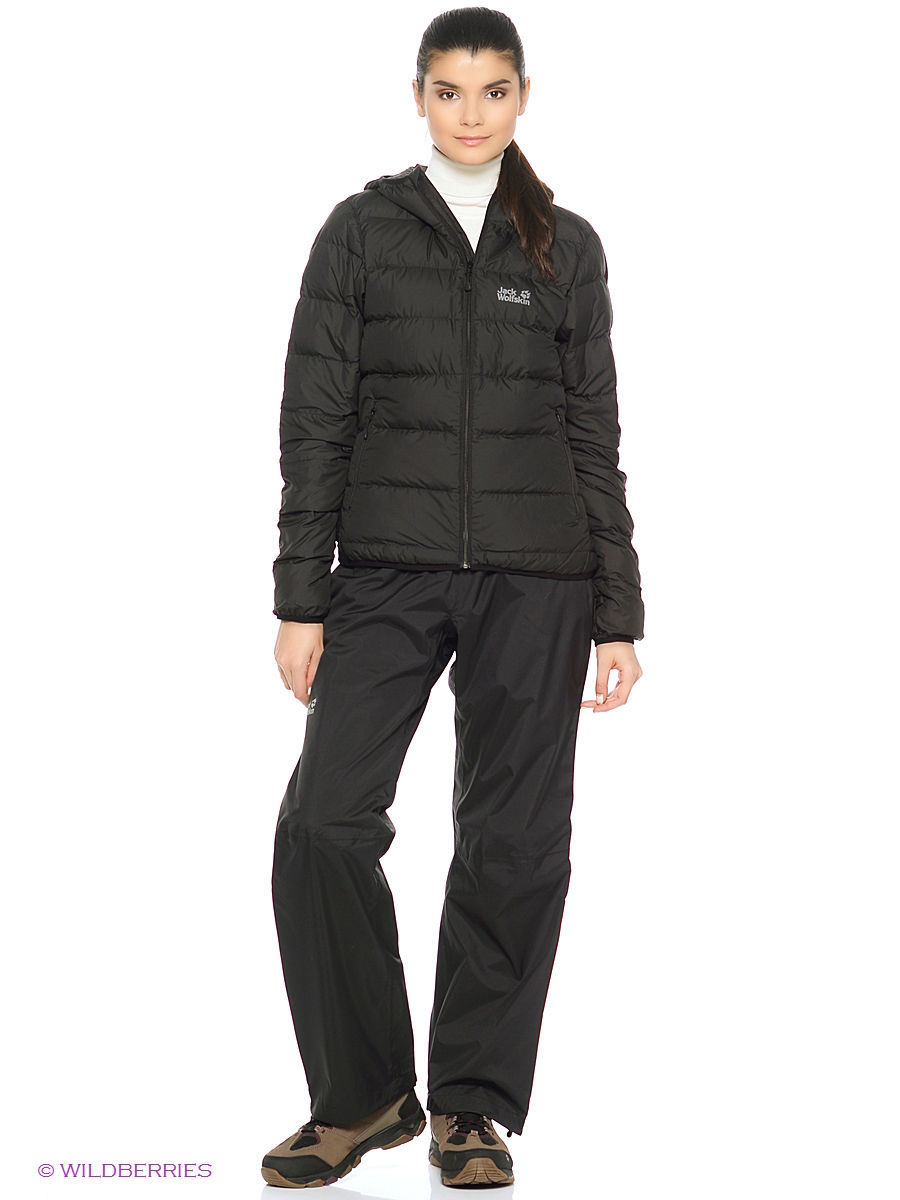 Брюки CLOUDBURST PANTS WOMEN Jack Wolfskin 1105791/6000