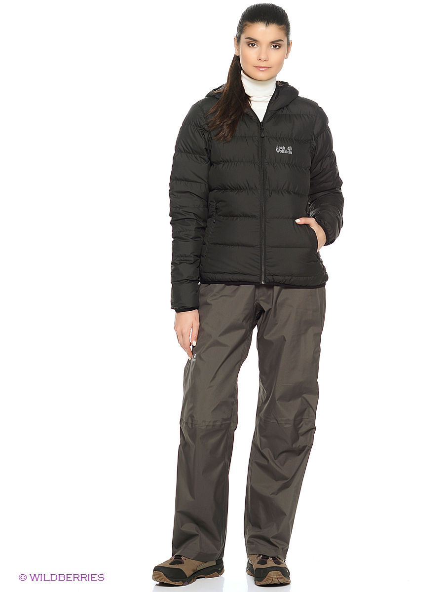 Брюки CLOUDBURST PANTS WOMEN Jack Wolfskin 1105791/6032