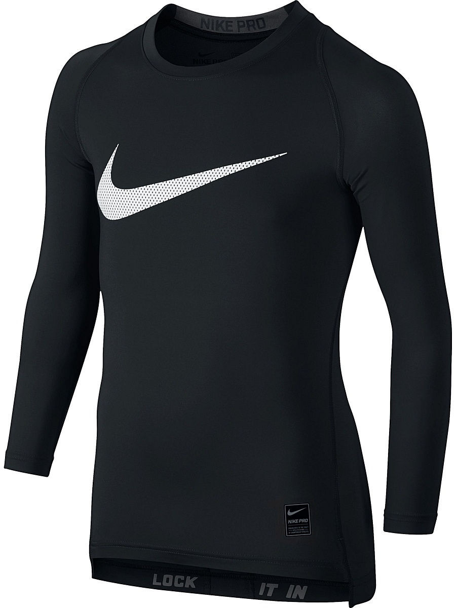 Лонгслив Nike Лонгслив COOL HBR COMP LS YTH nike лонгслив element 1 2 zip ls top yth