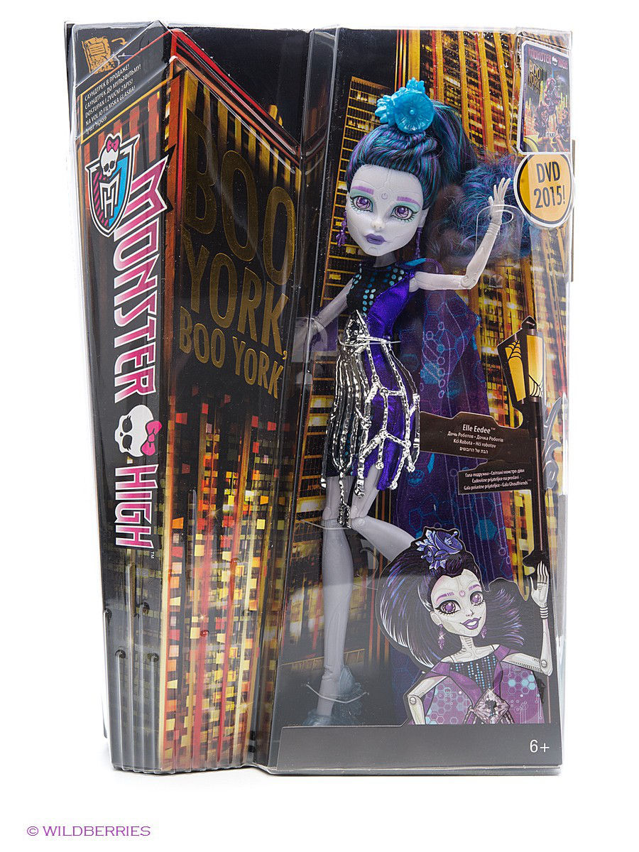 Куклы Monster High Кукла Boo York