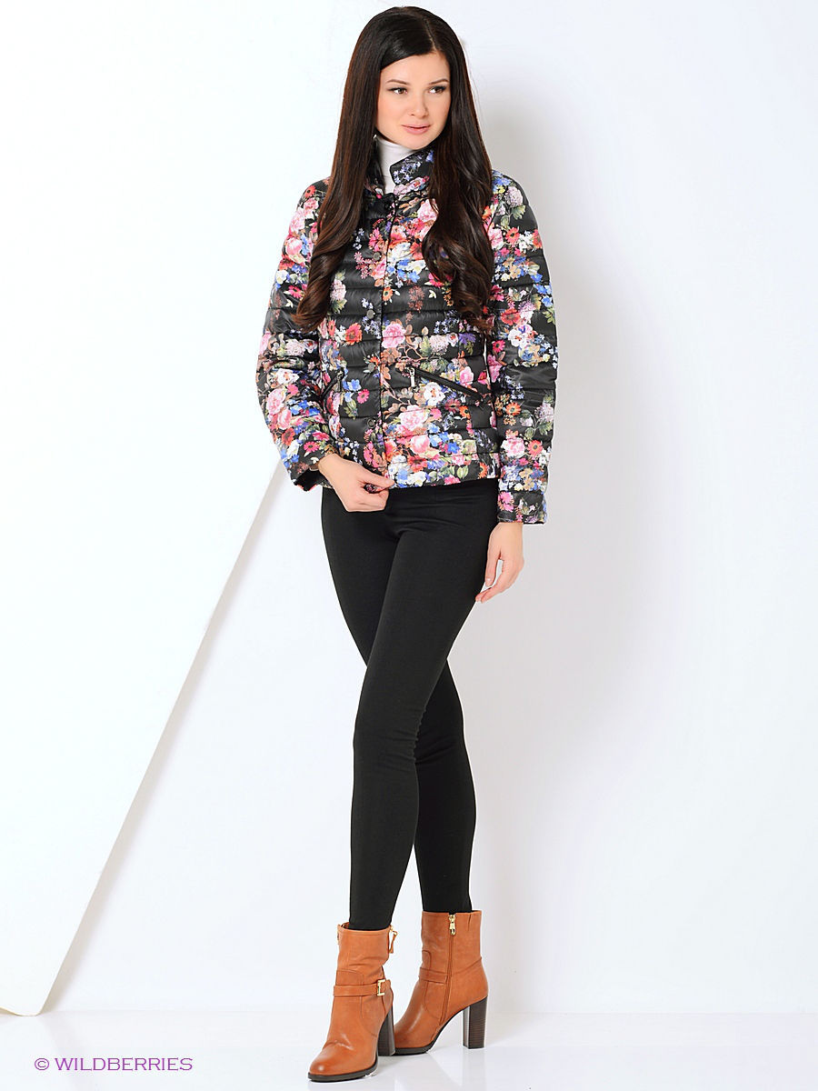 Пуховик DIXI CoAT 796-803/Flower
