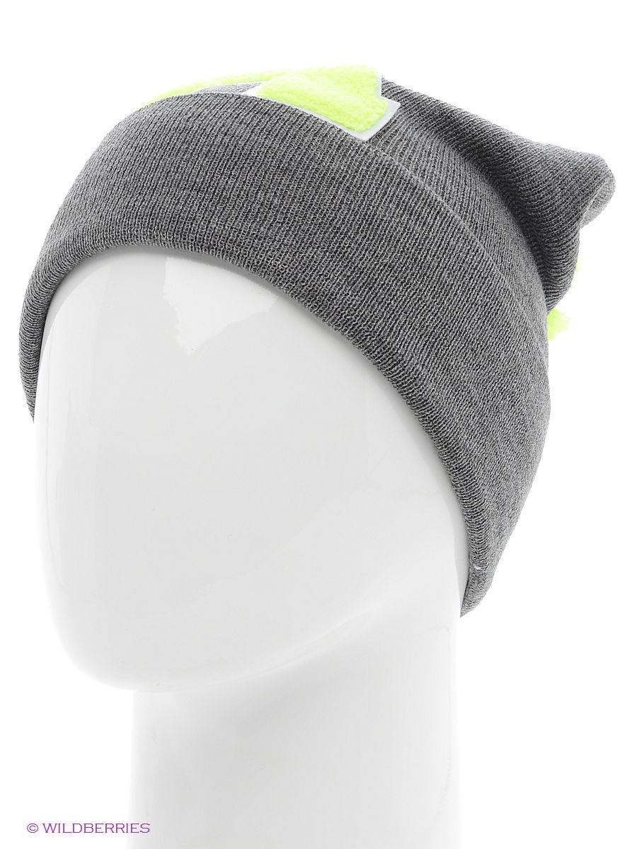 Шапка True Spin TS-ABCPOM14Grey/Lime-A