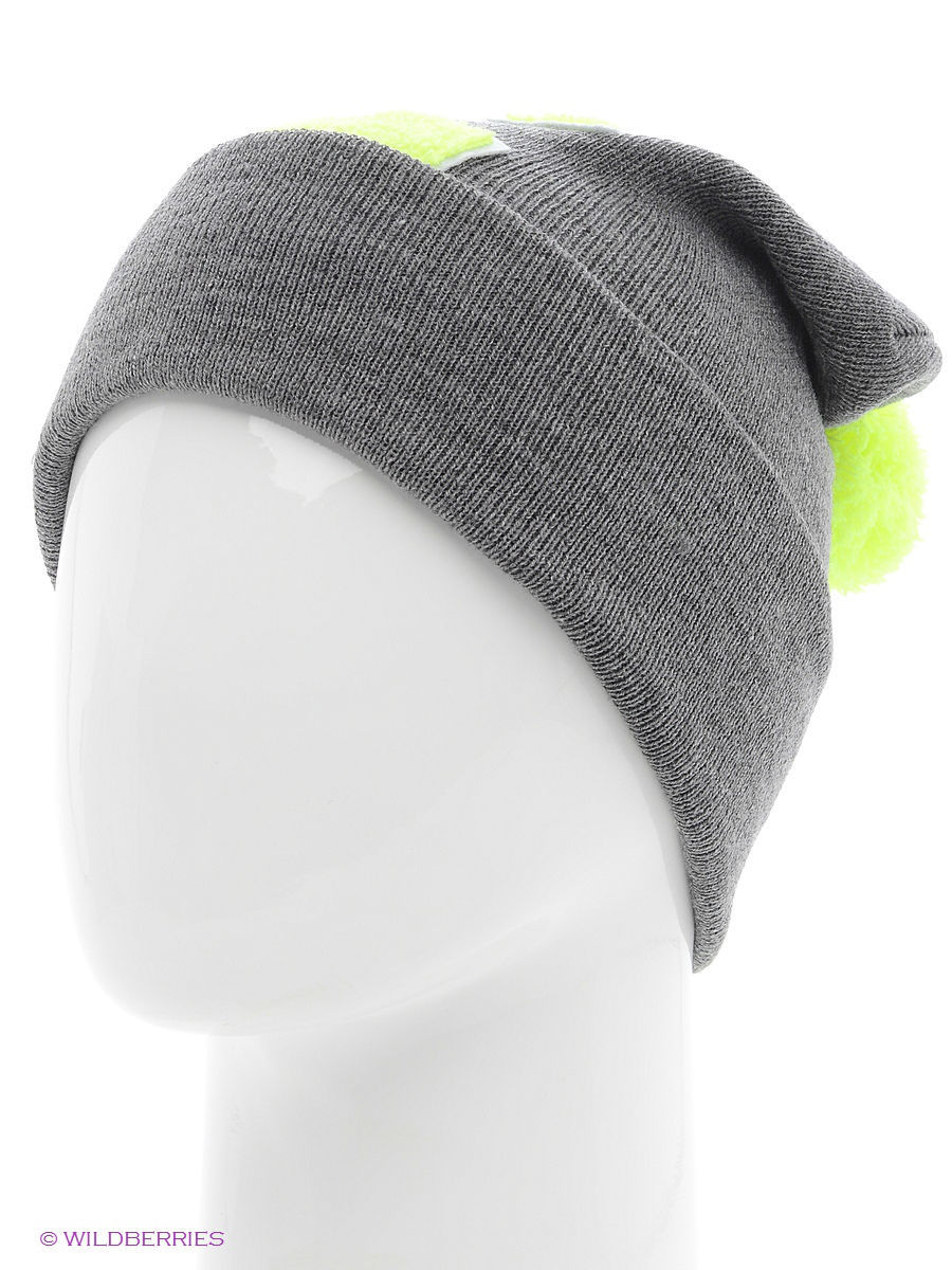Шапка True Spin TS-ABCPOM14Grey/Lime-C