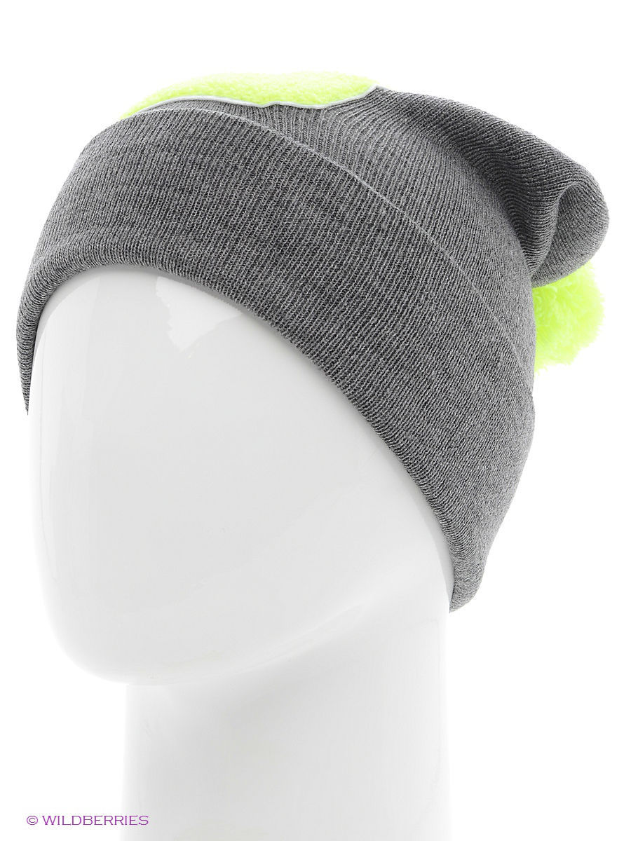 Шапка True Spin TS-ABCPOM14Grey/Lime-D