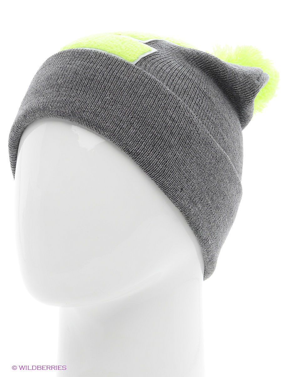 Шапка True Spin TS-ABCPOM14Grey/Lime-E