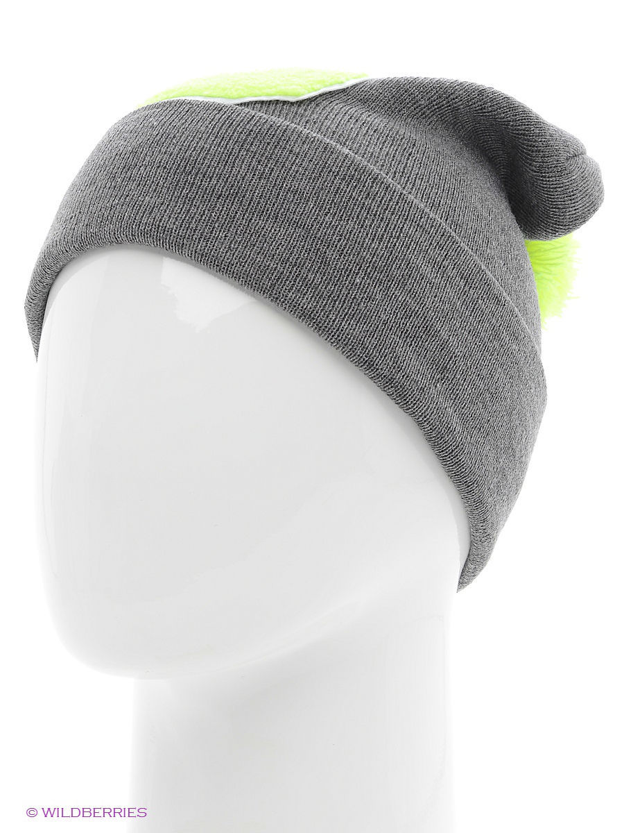 Шапка True Spin TS-ABCPOM14Grey/Lime-G