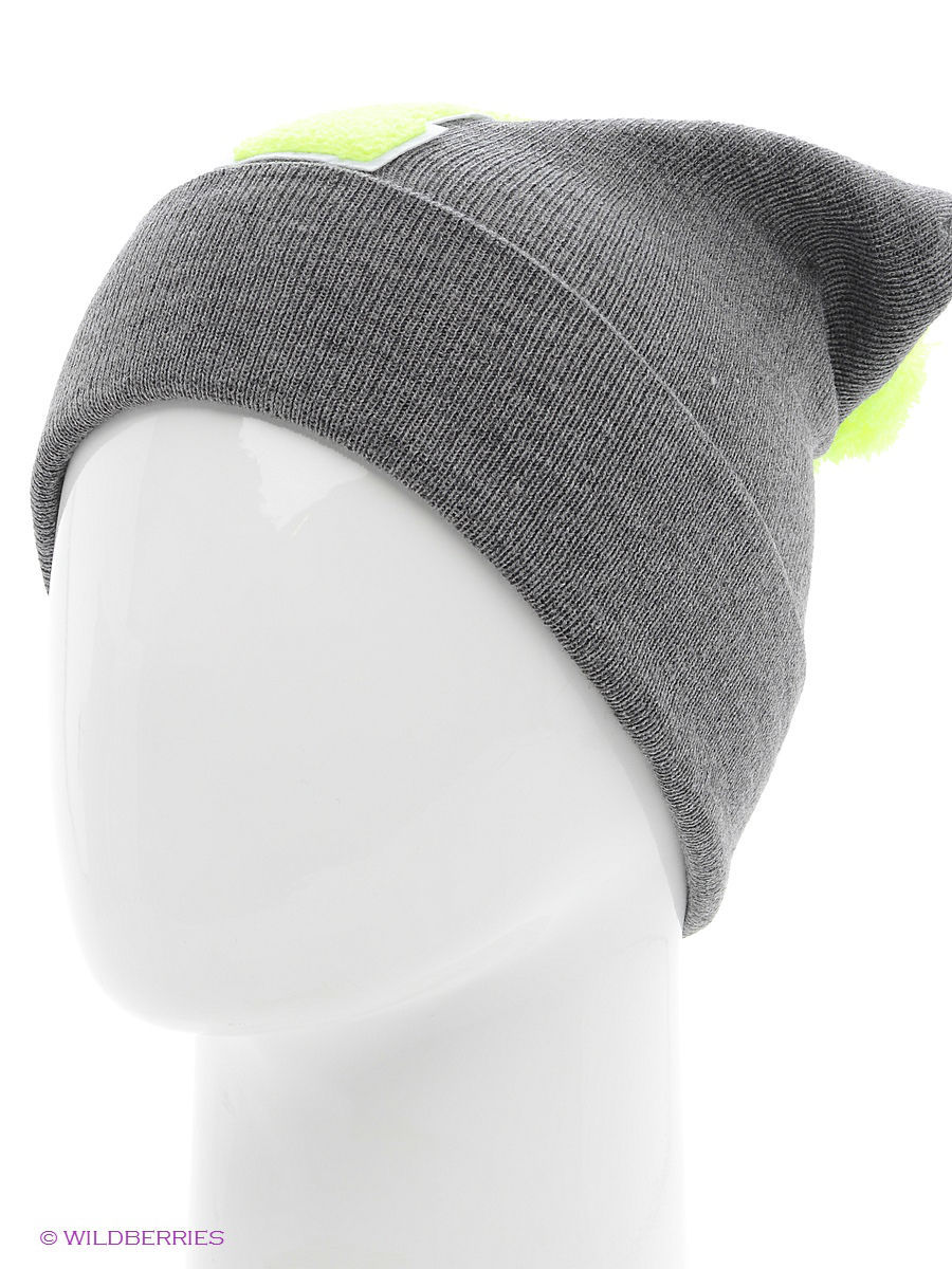 Шапка True Spin TS-ABCPOM14Grey/Lime-I