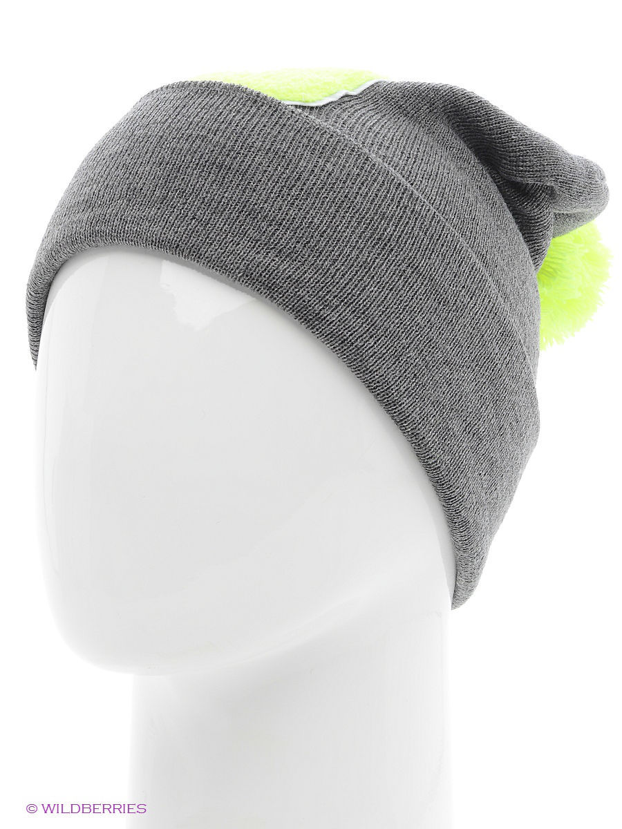 Шапка True Spin TS-ABCPOM14Grey/Lime-J
