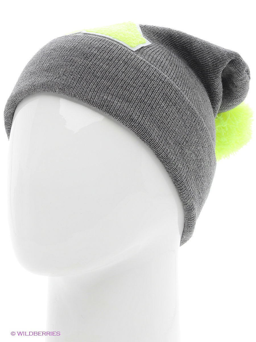 Шапка True Spin TS-ABCPOM14Grey/Lime-K