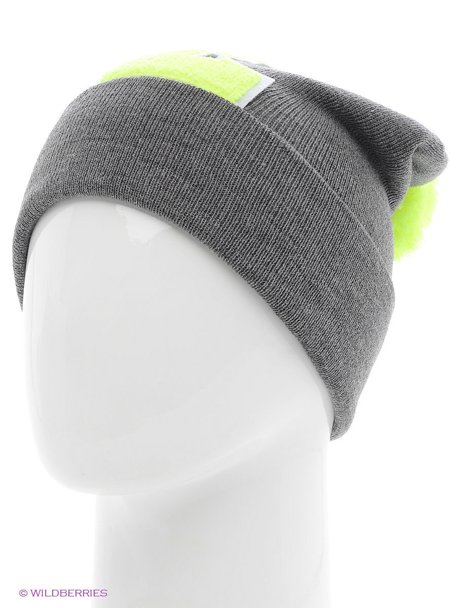 Шапка True Spin TS-ABCPOM14Grey/Lime-L
