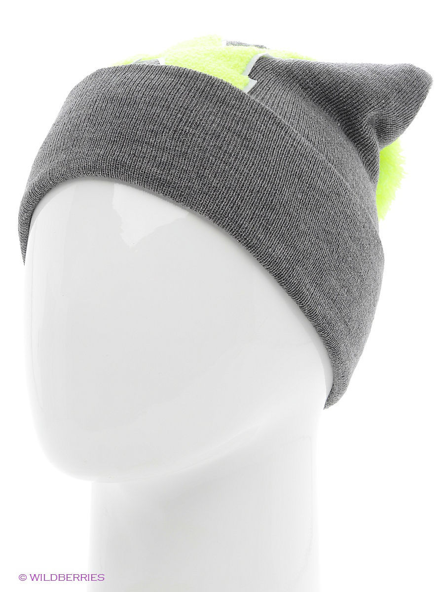 Шапка True Spin TS-ABCPOM14Grey/Lime-N