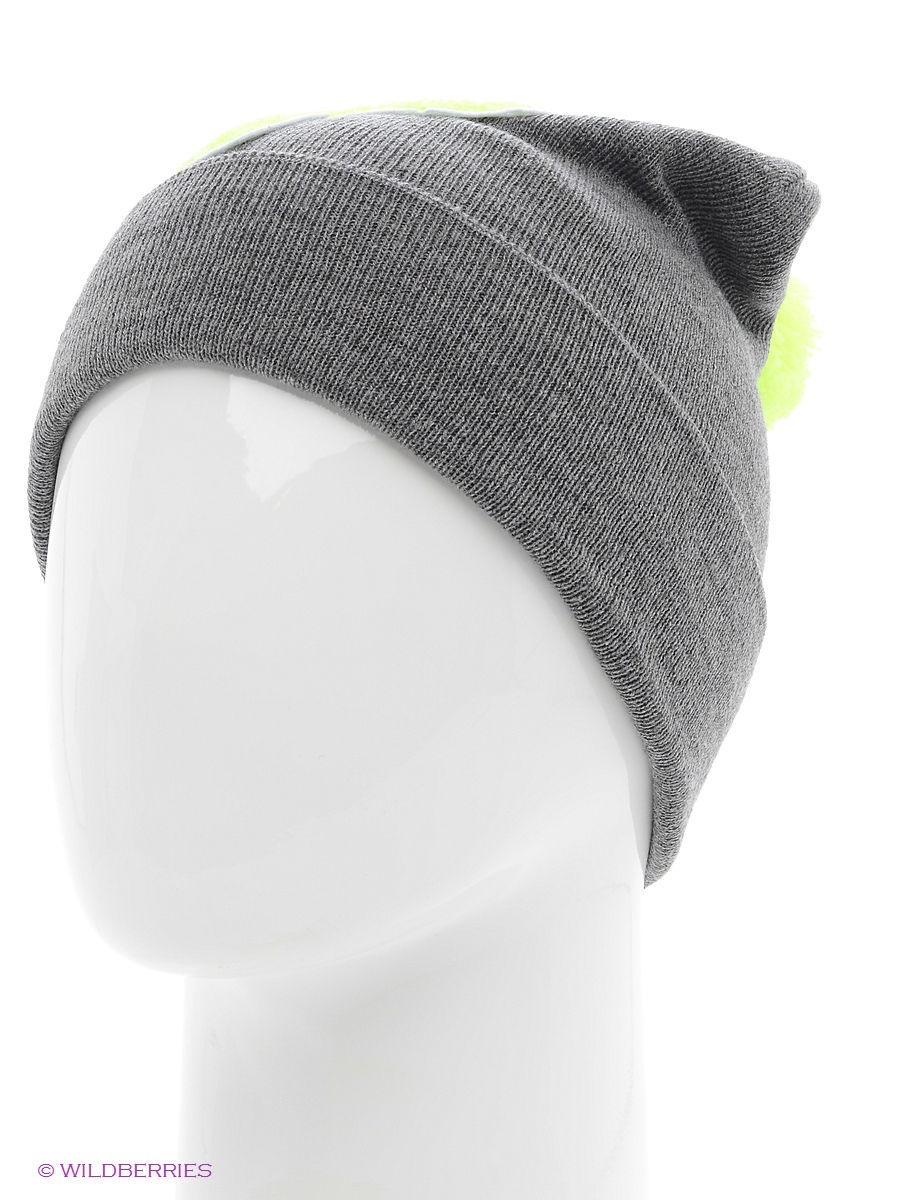 Шапка True Spin TS-ABCPOM14Grey/Lime-P